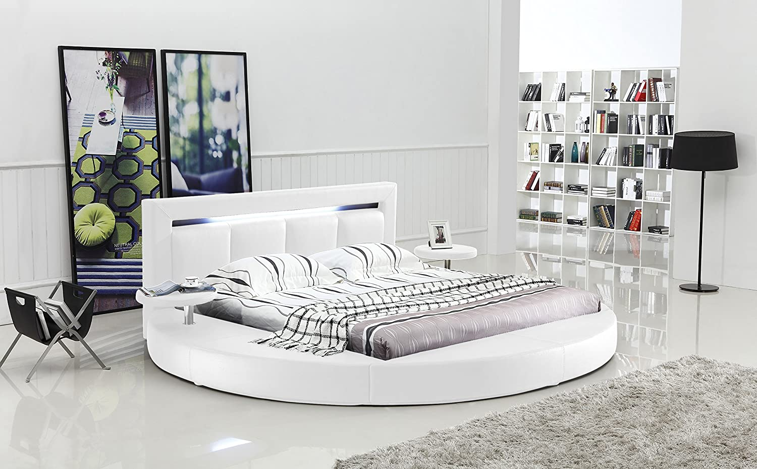 Three Stylish Ideas For your Round California King Bed